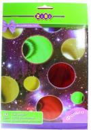 Папір кольоровий фольгований А4, 10 кольорів, 10 аркушів