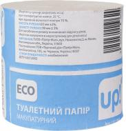 Туалетний папір UP! (Underprice) Eco одношаровий 1 шт.