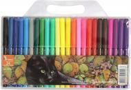 Фломастери Кіт 24 кольори ФЛ52-1 Умка