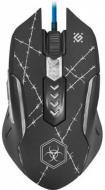 Мишка Defender Doom Forced GM-020L (+килимок) black