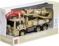 Військова техніка Shantou автомобіль з ракетою світло-зелений 1 1:16