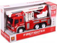 Пожежна машинка Shantou з білою драбиною 1:16