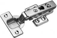 Петля Clip-On 110° накладна з посиленою лапкою Profi Line Muller 97741
