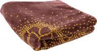 Полотенце NIGHT 50x90 см коричневый с желтым Lorenzzo