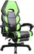 Кресло GT Racer M-2643 черно-зеленый