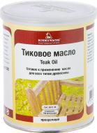 Масло Borma Wachs тиковое ST Teak Oil шелковистый мат 1 л