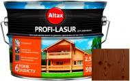 Лазурь Altax Profi-Lasur палисандр бронз шелковистый мат 2,5 л