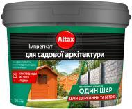 Імпрегнат для садової архітектури Altax коричневий 10 л