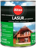 Лазур Altax Lasur напівмат білий 0,75 л