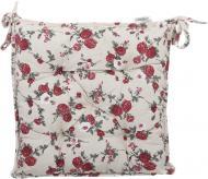 Подушка на стілець Вінтаж Троянди 40x40 см La Nuit
