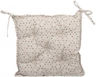 Подушка на стілець Вінтаж Горошки 40x40 см La Nuit