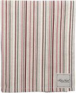 Серветка La Nuit Вінтаж Смужки 35x45 см бежевий із червоним