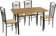 Комплект Візит-2 Стіл обідній зі стільцями 4 шт.
