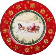 Блюдо кругле Santa Christmas Collection 26 см Lefard