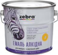 Эмаль ZEBRA алкидная ПФ-116 серия Акварель 855 ярко-желтый глянец 2,8кг