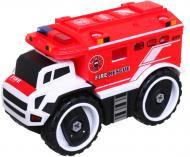 Конструктор MERX Limited пожежна машина з шуруповертом 25х12х16 см MX0304519