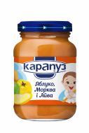 Пюре Карапуз Яблуко, морква та айва 200 г 4820012000142