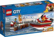 Конструктор LEGO City Пожежа на причалі 60213