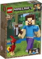 Конструктор LEGO Minecraft Стів із папугою 21148