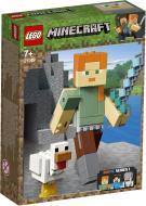 Конструктор LEGO Minecraft Алекс із курчам 21149