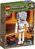 Конструктор LEGO Minecraft Скелет і лавовий куб 21150