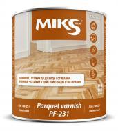 Лак ПФ-231 MIKS Color глянець 0,7кг прозорий