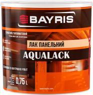 Лак панельный Aqualack Bayris полумат 0,75 л
