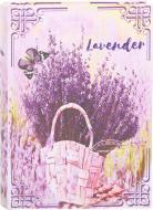Скринька-книга Лаванда в кошику 18х13х4 см