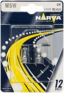Лампа галогенна Philips W5W W2,1x9,5d 12 В 5 Вт 2 шт