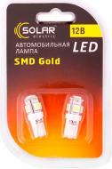 Лампа світлодіодна Solar LS243 W2W T10 W2.1x9.5d 12 В 2 шт