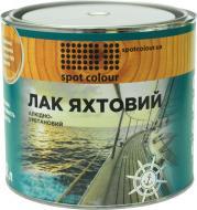 Лак яхтовий Spot Colour напівмат 2 л прозорий