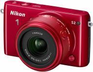 Фотоапарат Nikon 1 S2 red 11-27.5mm