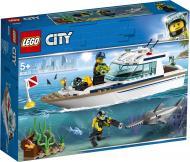 Конструктор LEGO City Яхта для дайвінгу 60221
