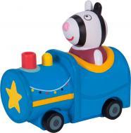 Игрушка Peppa Pig серии Когда я вырасту Зебра Зоя в поезде