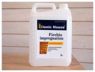 Огнебиозащита Bionic House Firebio Impregnation бесцветный 5 л