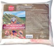 Огнебиозащита Вогнебіощит антипирен-антисептик для внешних и вутренних работ сухая смесь зеленый 2,5 кг