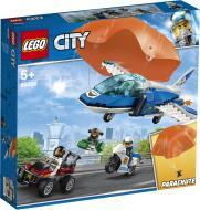 Конструктор LEGO City Повітряна поліція: арешт із парашутом 60208