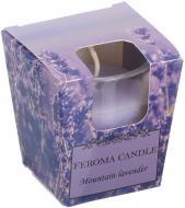 Свічка Арома Стопка Mountain lavender Feroma Candle