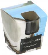 Свічка Арома Стопка Coconut island Feroma Candle