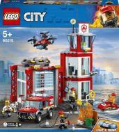 Конструктор LEGO City Пожежне депо 60215