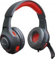 Гарнітура ігрова Defender Warhead G-450 USB black/red кабель 2,3 м. LED підсвітка