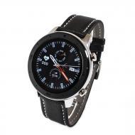 Смарт-часы NO.1 DT78 Leather Band Silver-Black (SWDT78LSB)