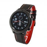 Смарт-часы NO.1 DT78 Leather Band Black (SWDT78LBB)
