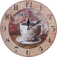 Годинник настінний Coffee