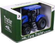 Іграшка Shantou трактор фермерський 24.5х12х14 см блакитний JY238621