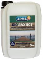 Биозащита ARMA 13 для древесины в тяжелых условиях эксплуатации 5 л