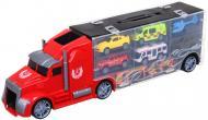 Ігровий набір Shantou місто вантажівка-кейс 42x9x13 см червоний 666-01K