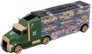 Ігровий набір Shantou армія вантажівка-кейс 42x9x13 см зелений 666-05K