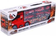 Ігровий набір Shantou рятувальний вантажівка-кейс 39.8x13 см червоний 666-09K