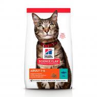 Корм сухий для дорослих котів Hill's Science Plan Adult Тунець 10 кг
